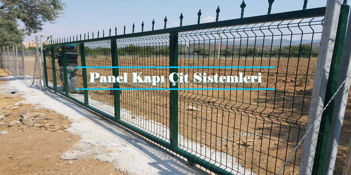 Panel Çit Kapı